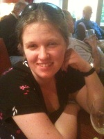 A picture of Katie Atkinson, chairperson of ANUK