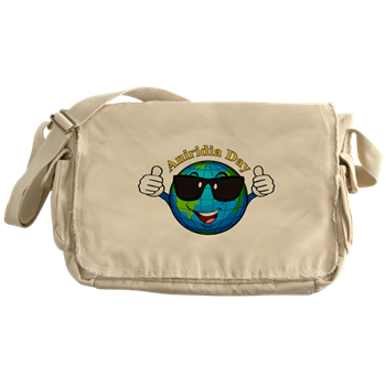 Messenger bag with Aniridia Day logo