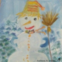 Snowman Christnas card