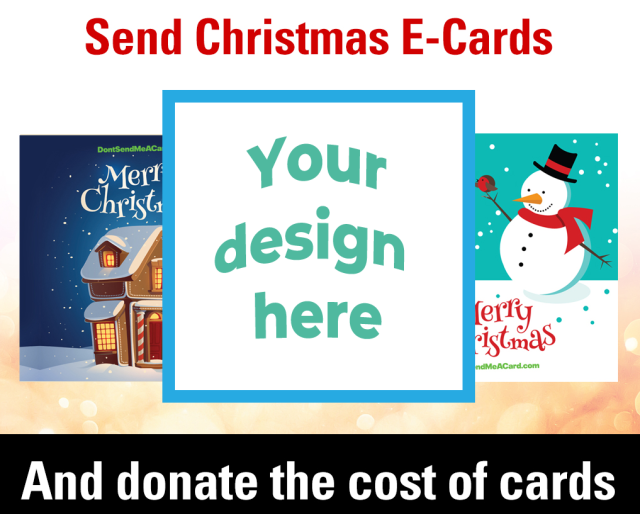 Your design here card demonstration