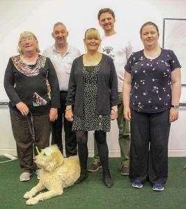 Trustee group posing